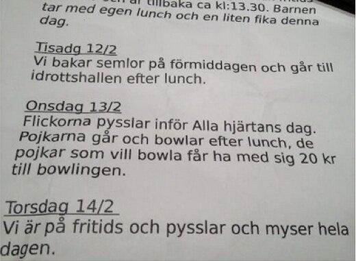 """@Mattiasedvard: Detta är inte klokt! Alla hjärtans dag på en helt vanlig förskola i Sverige år 2013. pic.twitter.com/pZeqB18X"""" SJUKT!!!!"""