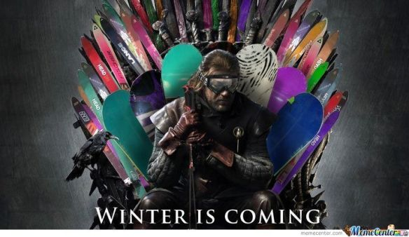 Winter is coming. Alpstyle!