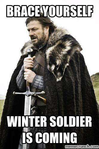 Winter(soldier) is coming